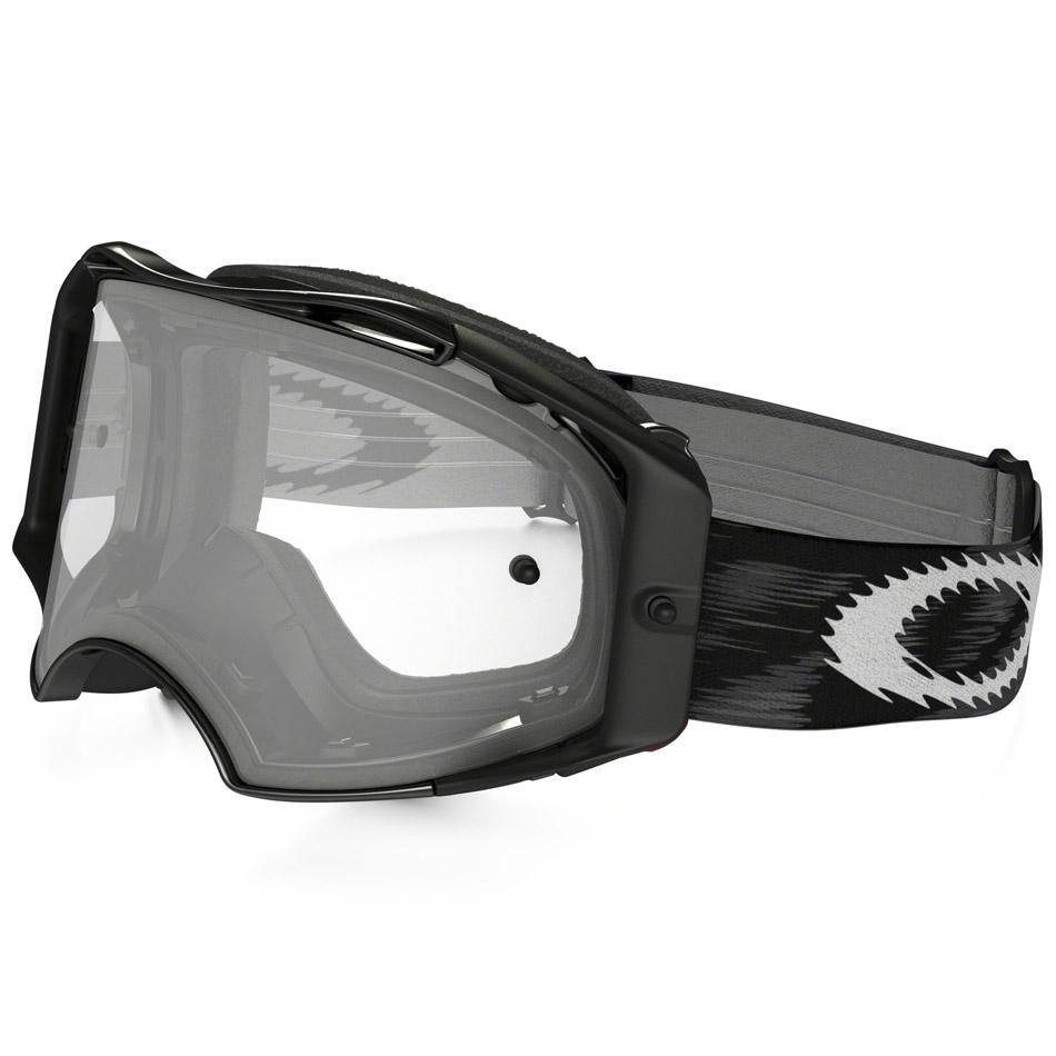 Oakley - Airbrake Solid очки черные глянцевые, линза прозрачная
