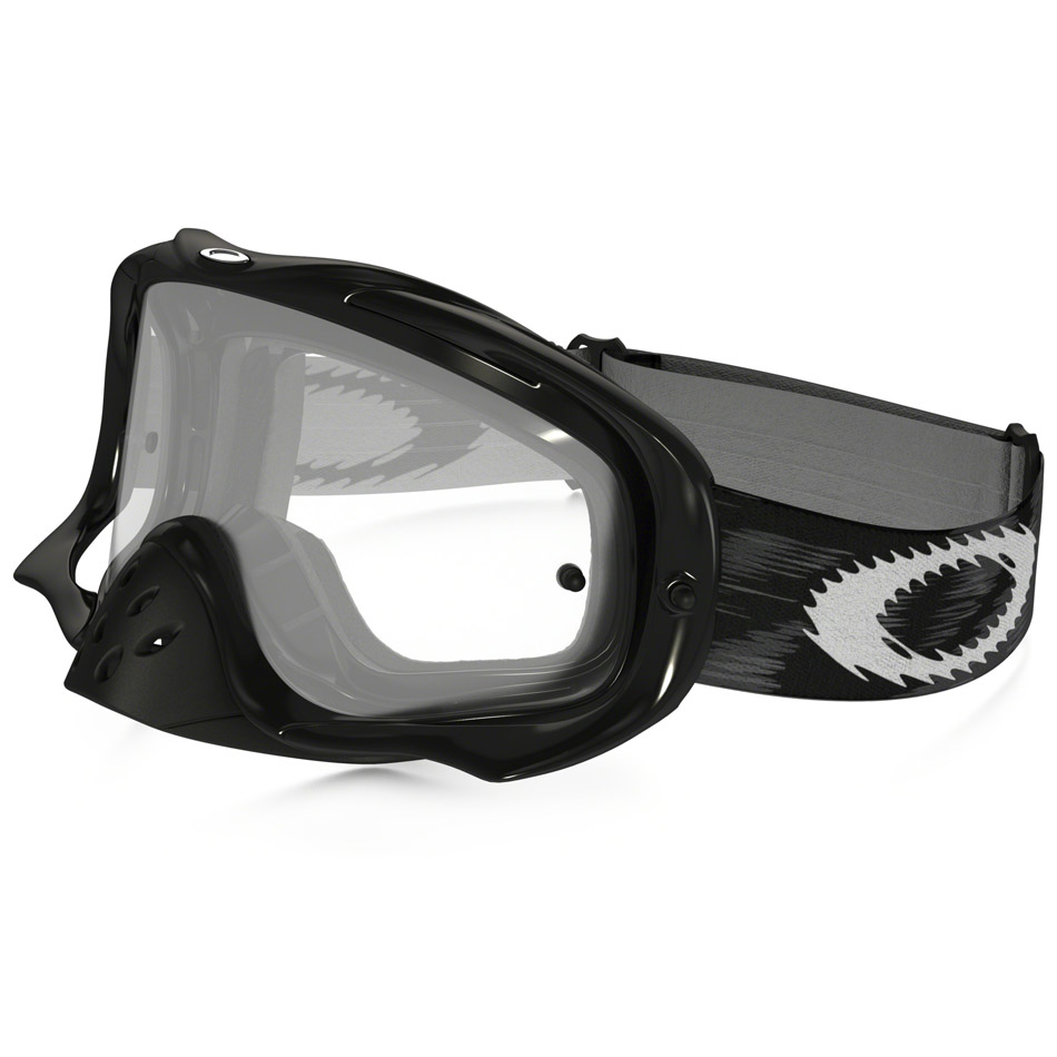Oakley - Crowbar Solid очки черные глянцевые, линза прозрачная