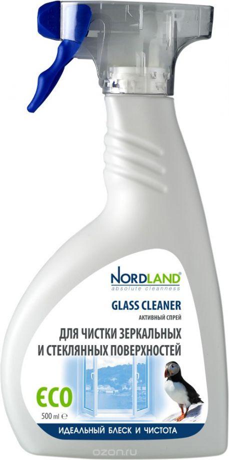 """Активный спрей """"Nordland"""" для чистки зеркальных и стеклянных поверхностей, 500 мл"""