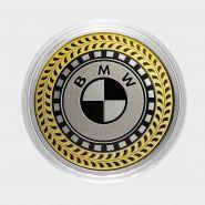 BMW, монета 10 рублей, с гравировкой, монета Вашего авто