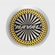 Haval, монета 10 рублей, с гравировкой, монета Вашего авто