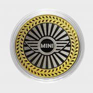 MINI, монета 10 рублей, с гравировкой, монета Вашего авто