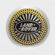 LAND ROVER, монета 10 рублей, с гравировкой, монета Вашего авто