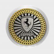 FERRARI, монета 10 рублей, с гравировкой, монета Вашего авто