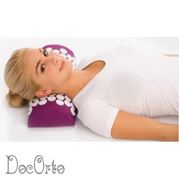 М-708 Ортопедическая массажная подушка-валик ТРИВЕС