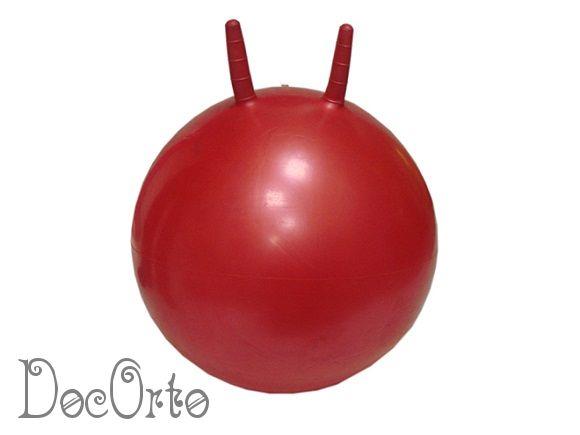М-355 Мяч гимнастический детский с рожками 55см ТРИВЕС