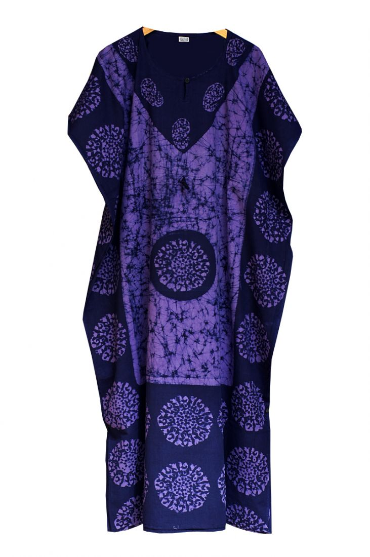 Длинное индийское платье на кулиске (отправка из Индии)