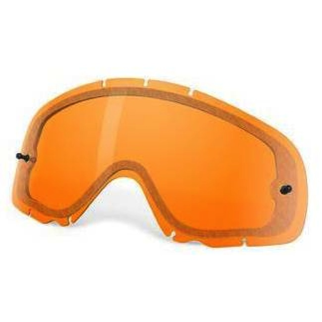 Oakley - Crowbar Lexan линза двойная вентилируемая, желтая