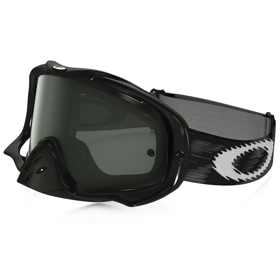 Oakley - Crowbar Solid очки черные глянцевые, линза темно-серая
