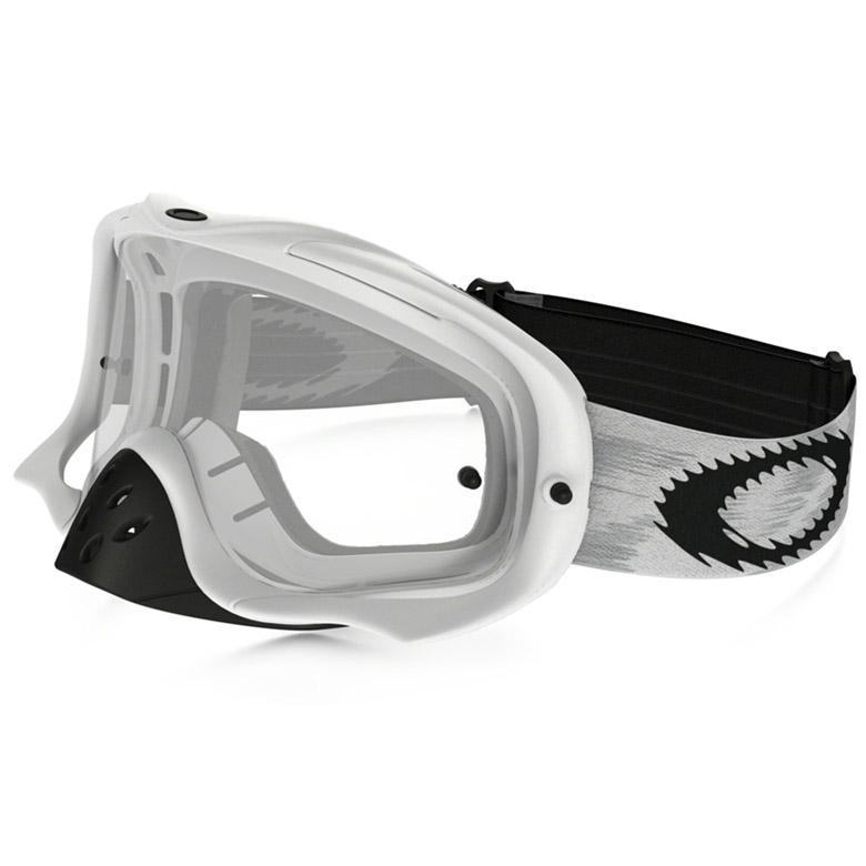 Oakley - Crowbar Solid очки белые матовые, линза прозрачная