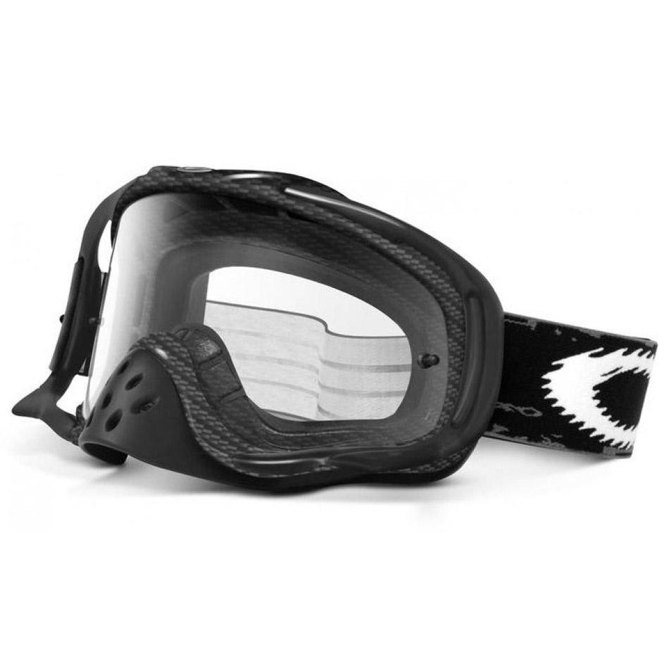 Oakley - Crowbar Solid Carbon очки черные, линза прозрачная