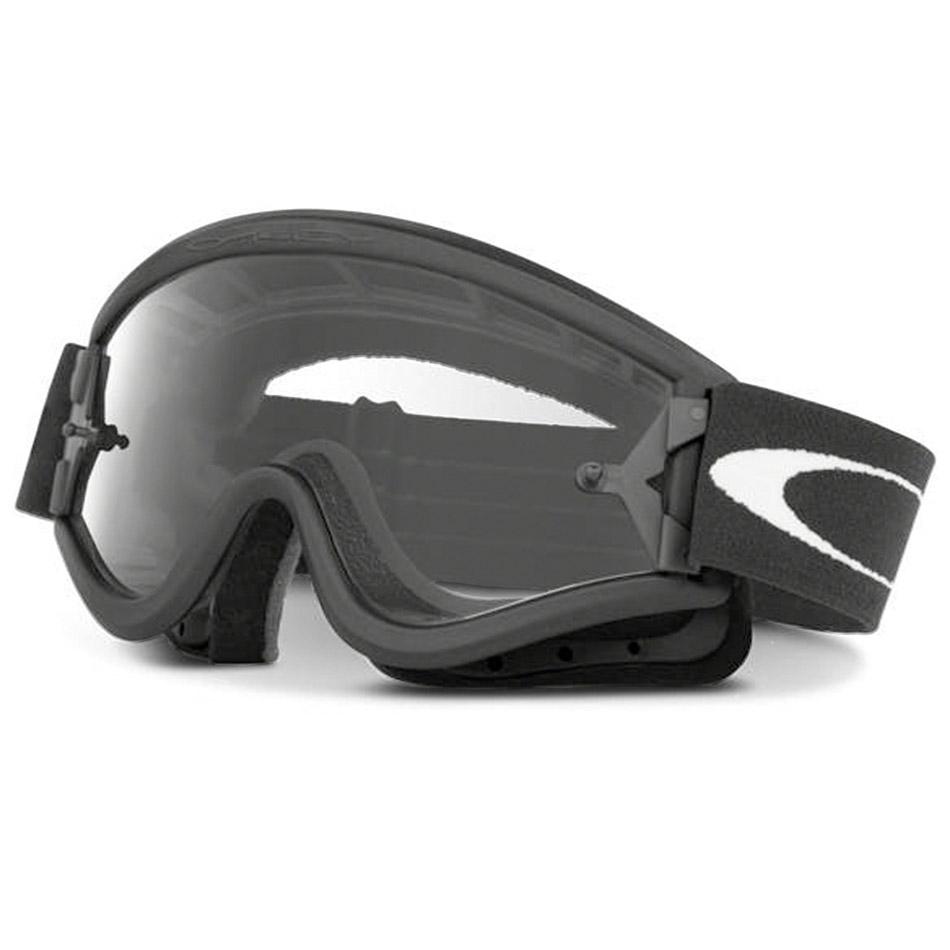 Oakley - L-Frame Solid очки черные матовые, линза прозрачная