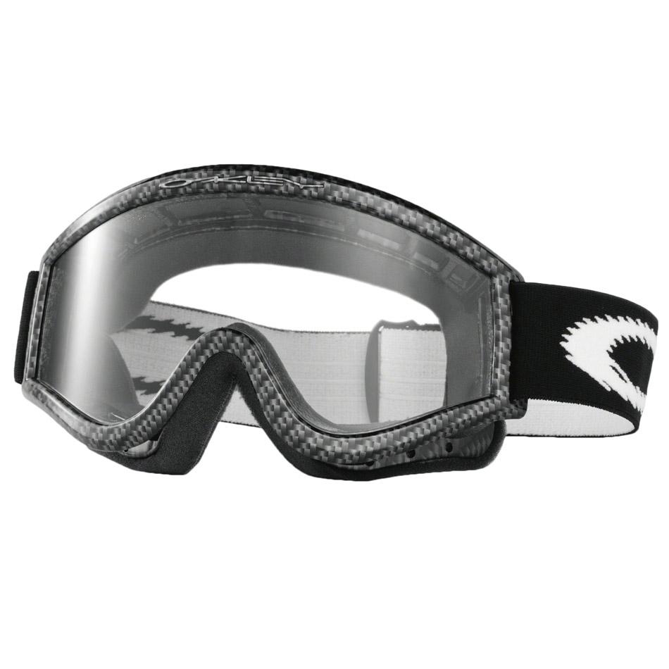 Oakley - L-Frame Solid очки черные, линза прозрачная