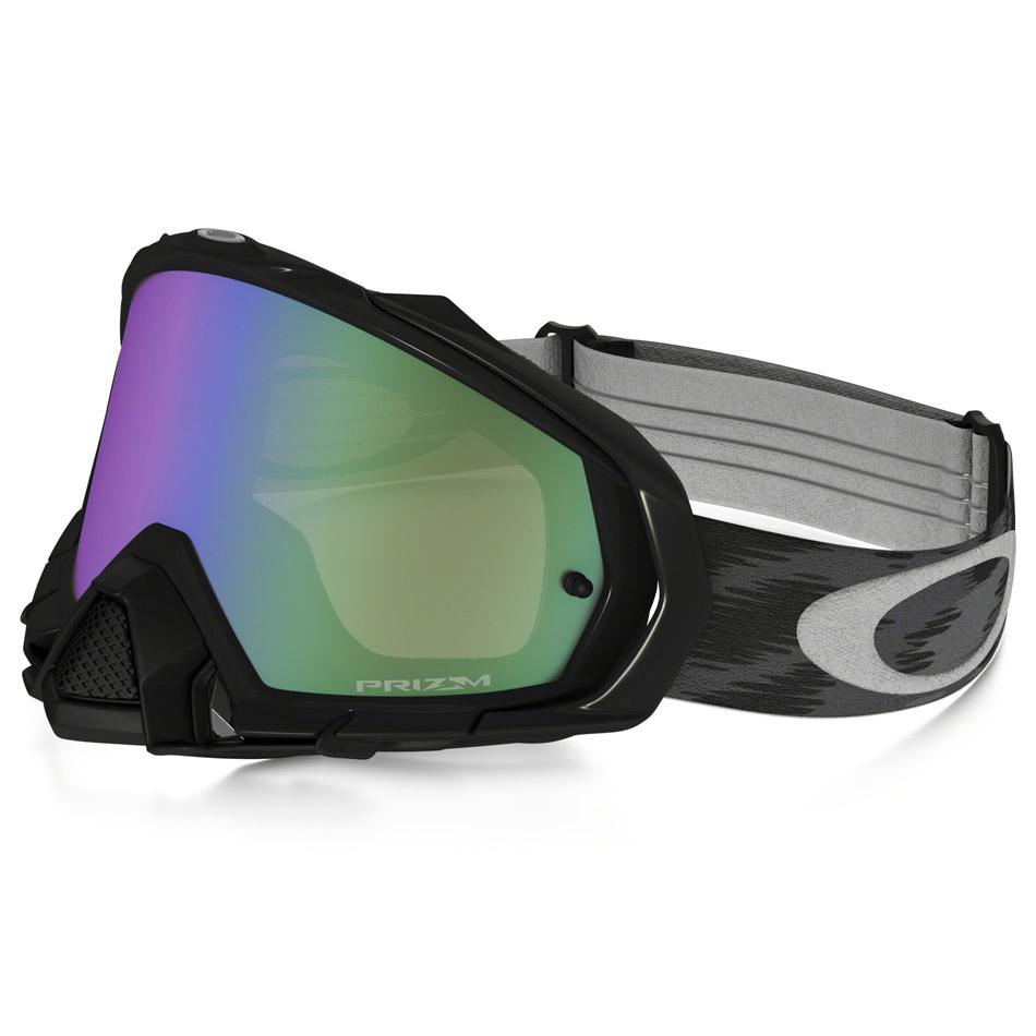 Oakley - Mayhem Pro Solid очки черные глянцевые, линза зеленая Prizm MX