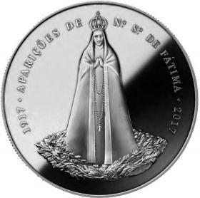 100 лет явления Пресвятой Богородицы в Фатиме  2,5 евро Португалия 2017 на заказ