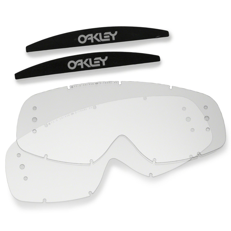 Oakley - O-Frame Lexan линза прозрачная для перемотки Roll-Off (2 шт.)