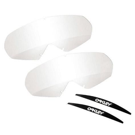 Oakley - O-Frame 2.0 Lexan линза прозрачная для перемотки Roll-Off (2 шт.)
