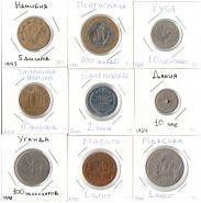Лот 3. Намибия, Португалия,Куба, З. Африка, Бангладеш, Дания,Уганда,Мальта,Мексика