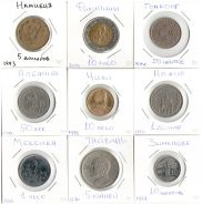 Лот 5. Намибия,Филиппины,Гонконг,Албания,Чили,Алжир,Мексика,Тайвань,Зимбабве