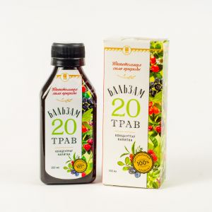 Концентрат напитка Бальзам 20 трав