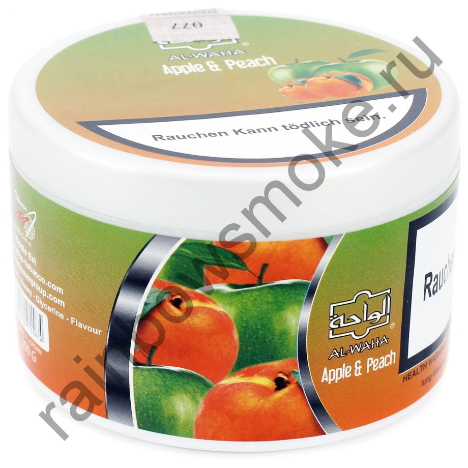 Al Waha 250 гр - Apple & Peach (Яблоко и Персик)