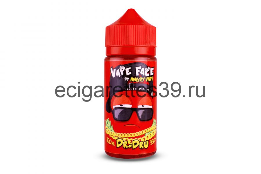 Жидкость Vape Face Dr.Dru, 100 мл.