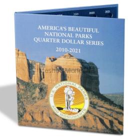 """Альбом-папка 25 центов США """"Национальные парки"""""""