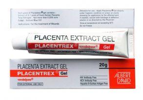 Placenta Extract Gel, экстракт плаценты и Азот, 20 гр.