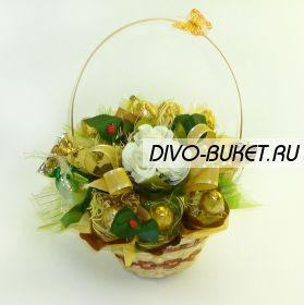 """Букет из конфет №339 """"День учителя"""""""