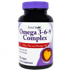 Natrol Omega 3-6-9 Complex (90 капс.)