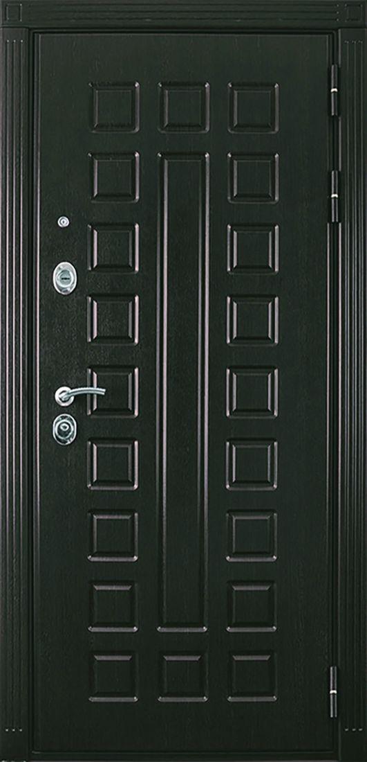 Металлическая входная дверь Престиж Венге