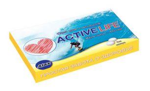 """""""Atax"""" Жевательная резинка Active Life, вкус мята+цитрус"""