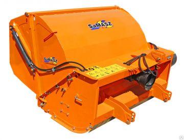 Мульчирователи  SaMASZ с бункером-накопителем IBIS - бункер из пластмассы