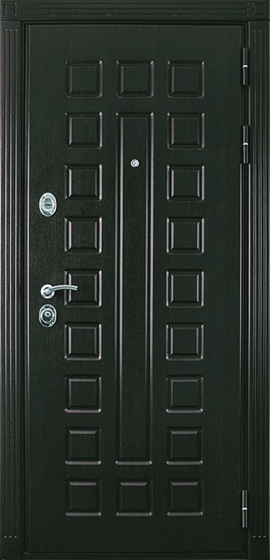 Металлическая входная дверь Триумф Венге