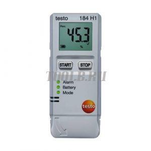 testo 184 H1 - Логгер данных температуры и влажности с поверкой