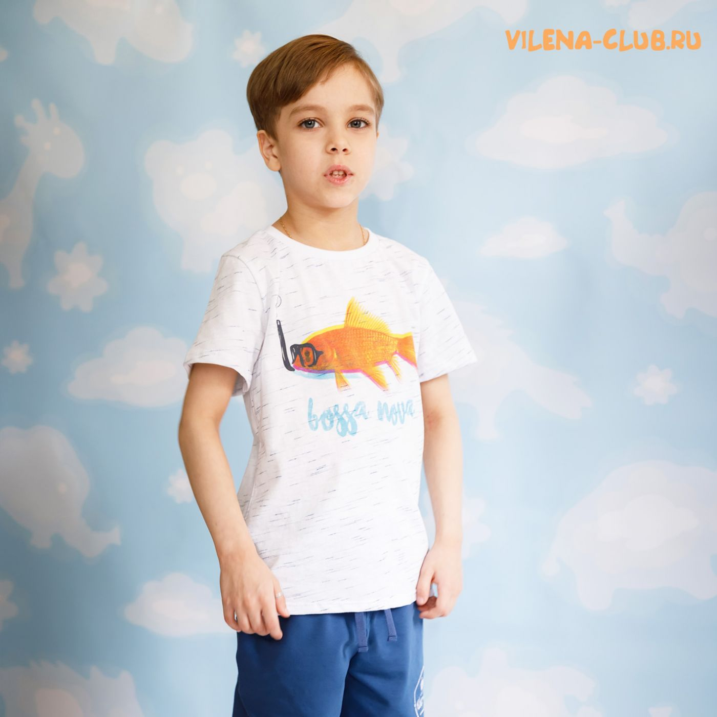 Комплект для мальчика (футболка+шорты)