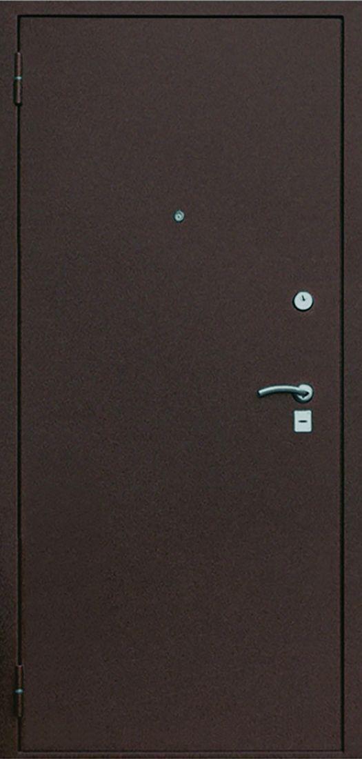 Металлическая входная дверь Олимп Медный антик