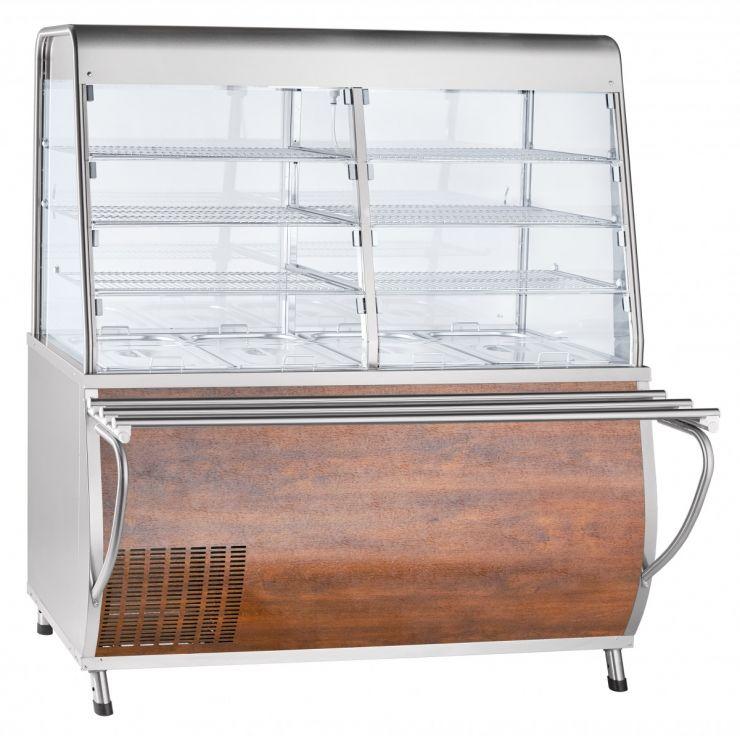 Прилавок-витрина холодильный ПВВ(Н)-70Т-С-01-НШ с гастроёмкостями