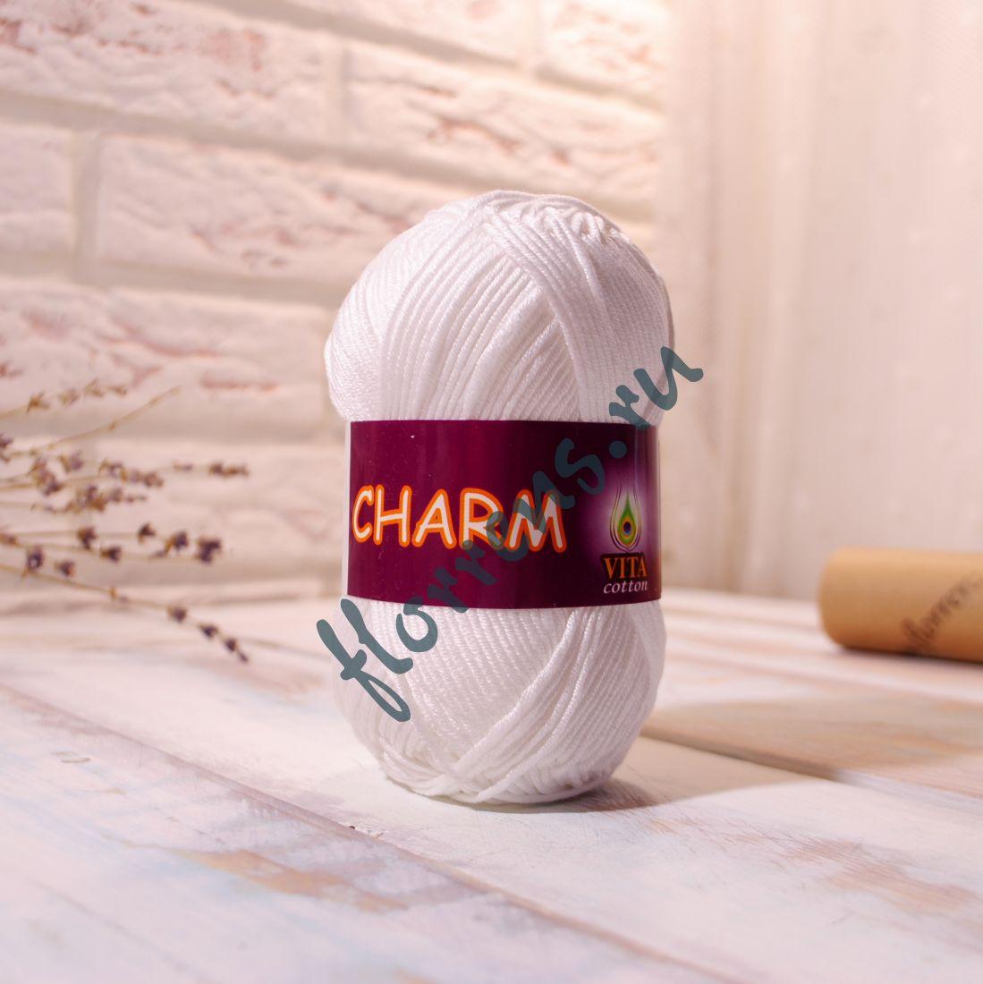 Пряжа Charm / 4151 белый