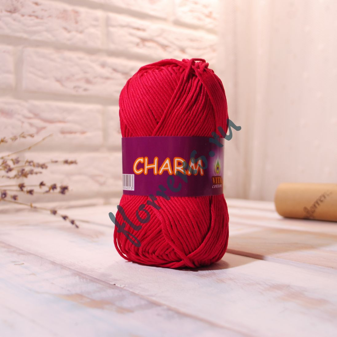 Пряжа Charm / 4192 малина