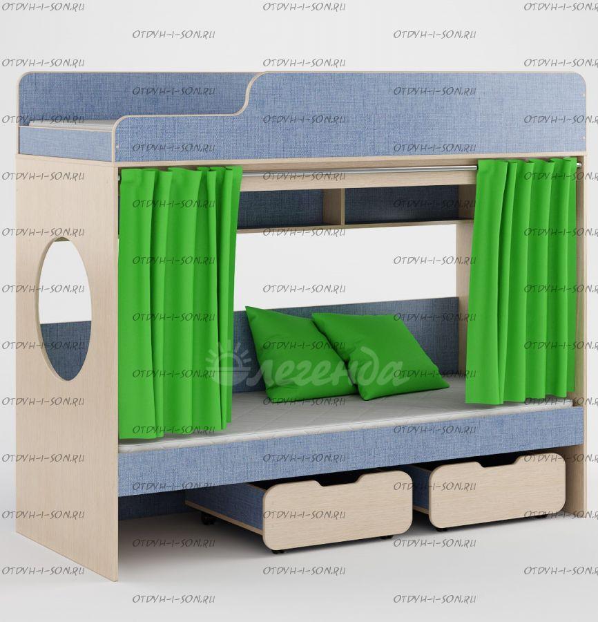 Кровать двухъярусная Легенда-7.0