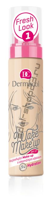 Dermacol / тональная основа Wake & Make-Up