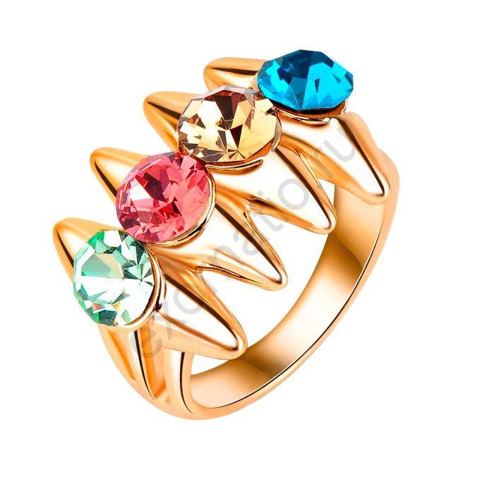 Кольцо Crystal Shik 29226-1013. Кольцо с шипами