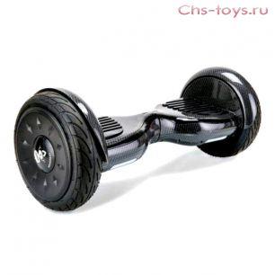 Гироскутер Smart Balance Черный карбон 10 PRO + Музыка