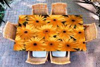 Наклейка на стол - Герберы | Купить фотопечать на стол в магазине Интерьерные наклейки