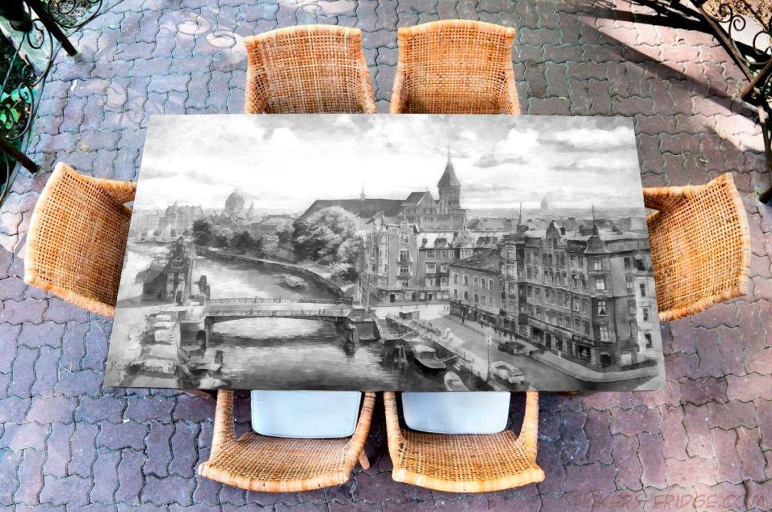 Наклейка на стол - Кёнигсберг