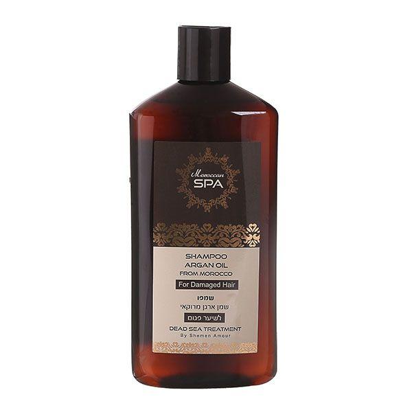 Шампунь для поврежденных волос с маслом марокканского аргана Shemen Amour (Шемен Амур) 500 мл