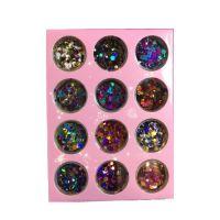 Камифубуки глянец разноцветные разноразмерные, набор 12 шт