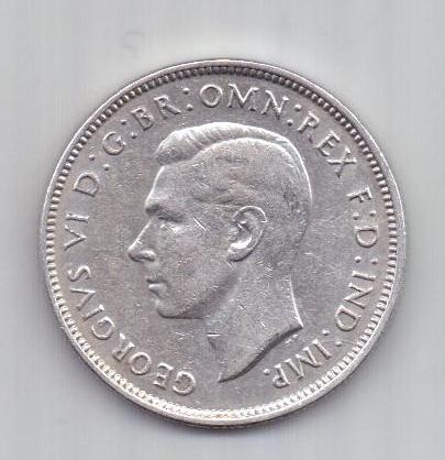 1 флорин 1938 г. AUNC. редкий год .Австралия