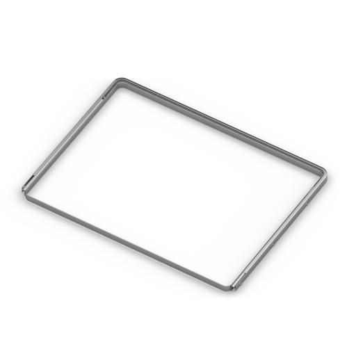 Рамка для корзин выдвижная,  серия 460, L=550, металлик